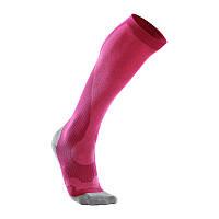 Женские компрессионные гольфы для восстановления 2XU WA2441e (розовый / серый)