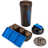 Шейкер My Protein Shaker Core 150 (900 ml ) синий / черный
