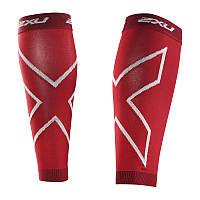 Компрессионные гетры 2XU UA2595b (красный / красный)