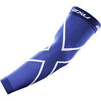 Спортивные компрессионные рукава 2XU UA2594a (голубой / голубой)