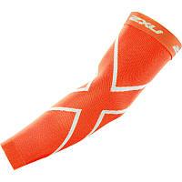 Спортивные компрессионные рукава 2XU UA2594a (оранжевый / оранжевый)