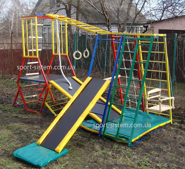 Детский игровой комплекс для игр на улице Лабиринт-3