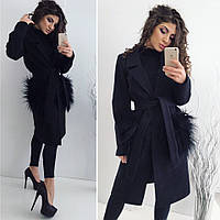 Пальто LAMA  цвет чёрный 12454