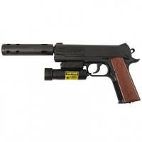 Пистолет пневматический с ЛЦУ Crosman 1911ТАС (4.5мм)