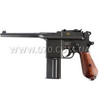 Пистолет пневматический SAS Маузер M712, с отдачей (4.5mm)