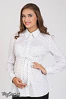 Рубашка блуза Noni для беременных (молочный)
