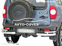 Защитные углы двойные для Chevrolet Niva Bertone от ИМ Автообвес