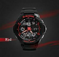 Часы мужские спортивные S-shock 0931 Red,Гарантия 6 мес. Япония. ОРГИНАЛ!