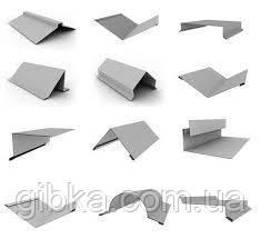Добірні елементи для покрівлі та фасаду оцинковані