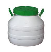 Бочка пластмассовая пищевая Лемира 30 л (горловина 220 мм)