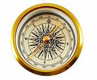 Компас TSC-51: градуировка 1°, 10х50 мм, колба металл, вес 16 г, разметка со сторонами света