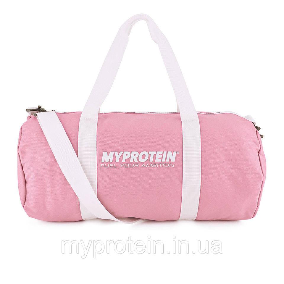 ce45c5c5e011 Спортивная сумка для тренажерного зала женская My Protein Barrel Bag (pink)  (розовая)
