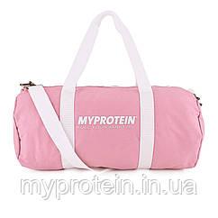 Спортивна сумка для тренажерного залу жіноча My Protein Barrel Bag (pink) (рожева)