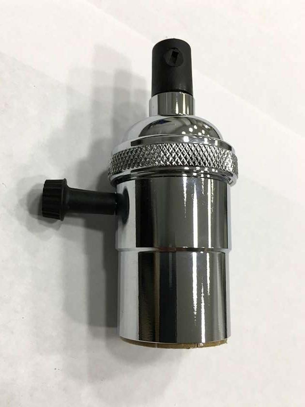 AMP патрон 19 chrome с выключателем (в сборе )