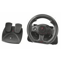 Игровой манипулятор trust gxt 580 vibration feedback racing wheel (21414)