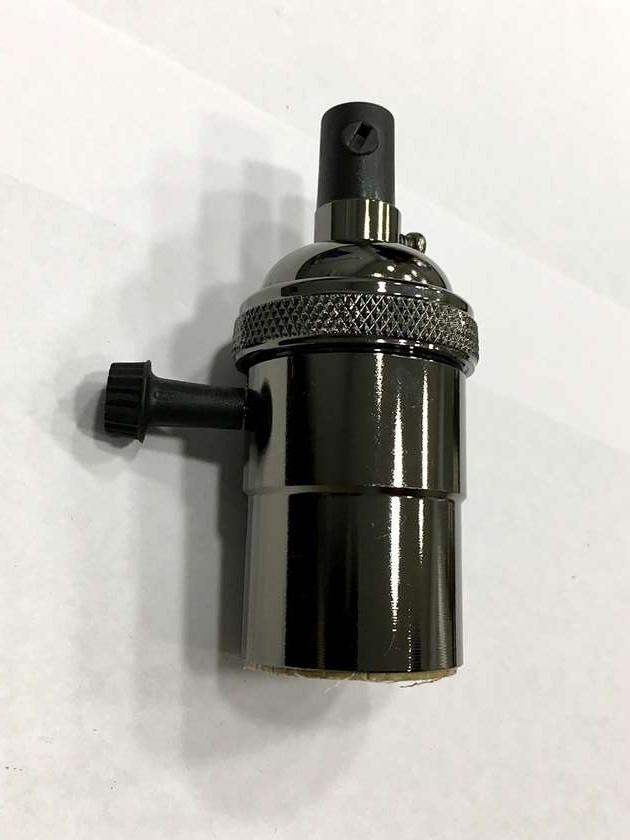 AMP патрон 19 pearl black с выключателем (в сборе )