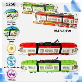 Трамвай на батарейках, 1258