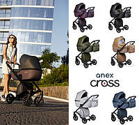 Универсальная коляска 2в1 Anex Cross , 2017