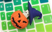 Прикольная флешка 16GB Хэллоуин