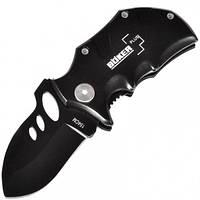 Нож складной BOKER PLUS MINI (полная длина 12.7см, длина лезвия 5.5см), черный