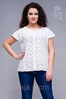 Блуза  натуральный хлопок большой  размер, фото 1