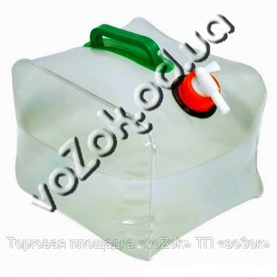 Компактная складная канистра для воды 10 л