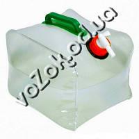 Компактная складная канистра для воды 10 л, фото 1