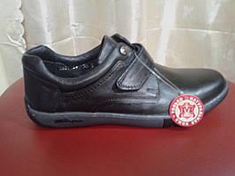 Туфли подростковые из натуральной кожи  МИДА 3101