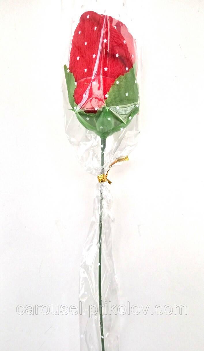 Квітка трояндочка рушник на 8 Березня