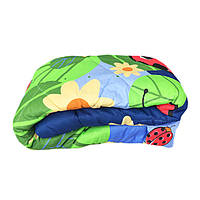 Одеяло полуторное холлофайбер, ткань бязь