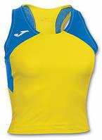 Топик женский желто-синий Joma Record II 900046.907 (желто-синий)