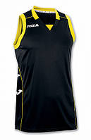 Майка баскетбольная черная Joma Cancha II 100049.100 (черный)