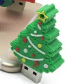 Новогодняя флешка 16GB ёлка
