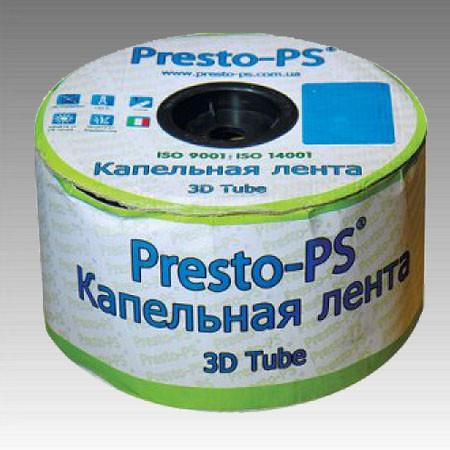 Эмитерная капельная лента  3D Tube 0,18 (2,7л/ч) (20см) 500м