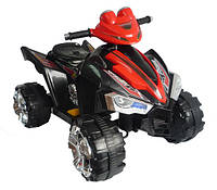 Эл-мобиль T-731 BLACK квадроцикл 6V7AH мотор 1*25W 88*61.8*64.6