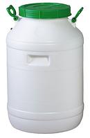 Бочка пластмассовая пищевая Лемира 60 л (горловина 220 мм)