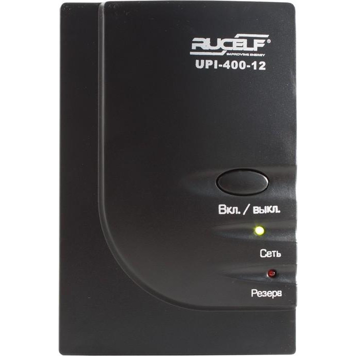 ИБП Rucelf UPI-400-12-E (300Вт), для котла, чистая синусоида, внешняя АКБ
