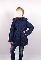 Куртка весна-осень, код КТ 17-16, размеры 122-146 (6-12 лет), цвет син