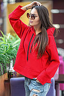 Пальто top-coat Емма червоне, фото 1