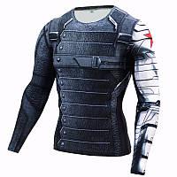 Оригинал! Супер Рашгард, комрессионная одежда для фитнеса. Высокого качества