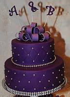 Сахарная паста (мастика) темно-фиолетовая 1 кг