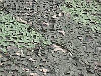 Маскировочная сетка 3х6м ПВХ 60% затемнения, зеленая