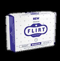"Прокладки для критических дней ""FLIRT Premium"" 6, 290мм, 6шт, Soft & Dry"