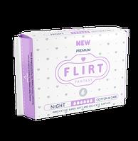 """Прокладки для критических дней """"FLIRT Premium"""" 6, 290мм, 6шт, Cotton & Care"""