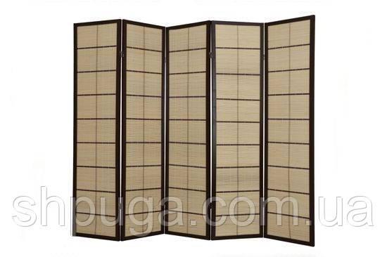 Декоративная ширма, экран, деревянный японский. Ручная роспись!