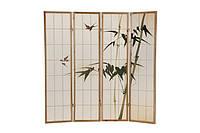 Декоративная ширма, экран, деревянный японский. Ручная роспись!, фото 1