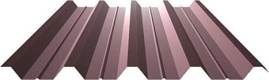 Профнастил ПК-57 0,40-0,70 matt, Pe