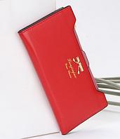 Роскошный женский  кошелек  клатч портмоне красный