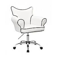 Косметическое кресло HC332K  белое