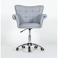 Парикмахерское кресло HC804CK серое, фото 1